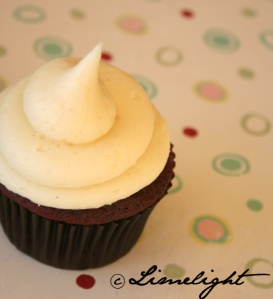 CupcakeChic Red Velvet with Cream Cheese Frosting Cupcake