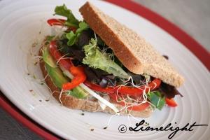 Vegetarian Sandwich - Raw Melissa
