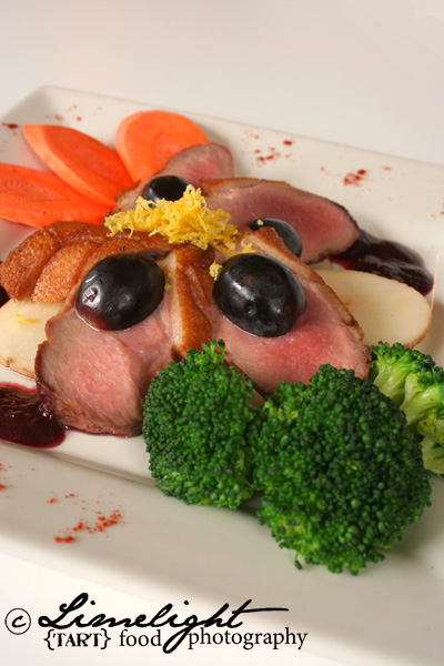 Duck with Vegetables